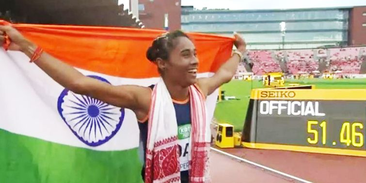 Hima Das Created History, First Indian Woman To Win Gold Medal At World Athletics Championships