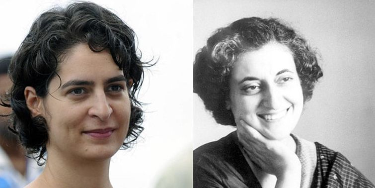 Congress' Recent Post Will Add Fuel to The Correlations Among Indira And Priyanka Gandhi