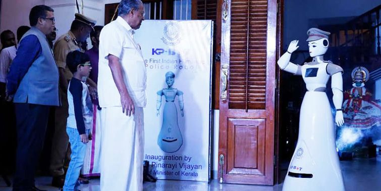 Kerala Police Recruits Humanoid Robot As Sub-Inspector On Front Desk Management