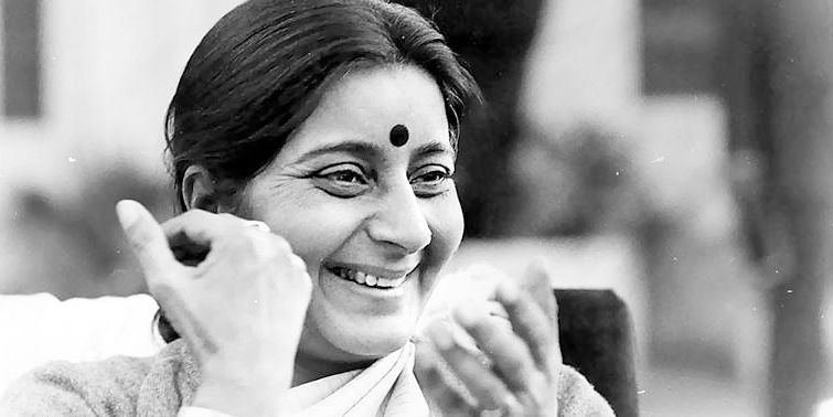Sushma Swaraj Glorious Chapter In India And Indian Politics Comes To An End Leaving A Legacy