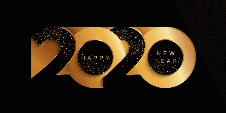 New Hope, New Goals, New Dreams, New Light, New Trust Happy New Year!-2020