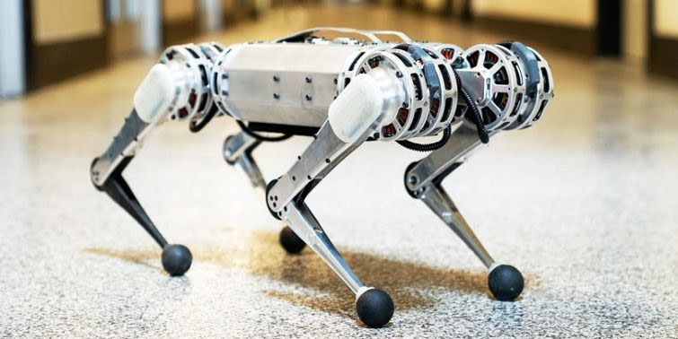 MIT's Mini Cheetah Robot Is Able To Perform A Reverse Somersault