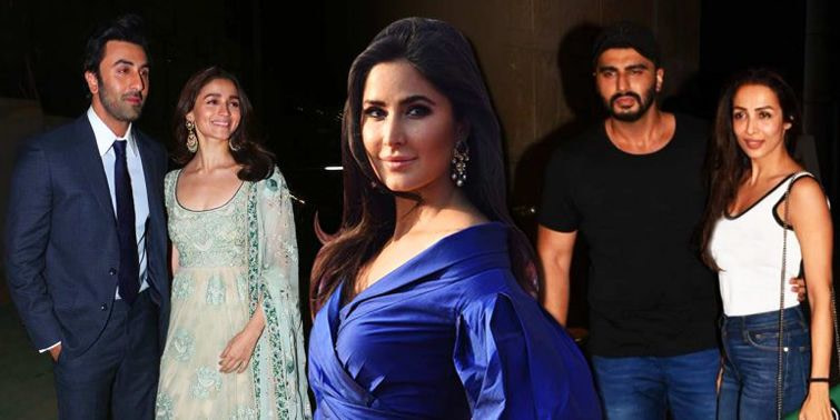 Katrina Kaif Prefers Arjun Kapoor And Malaika Arora, Over Ranbir Kapoor And Alia Bhatt!