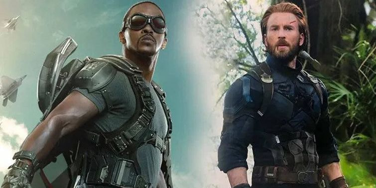 Captain America Anthony Mackie Steps Into Chris Evans' Shoes