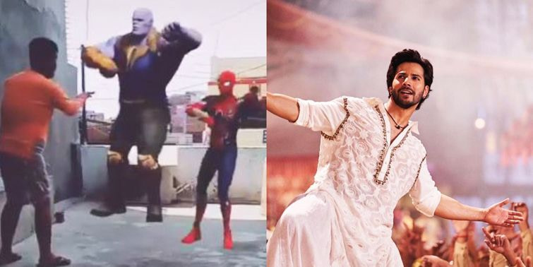 Kalank Connects Avengers Thanos And Spiderman Dance To Varun Dhawan's First Class!