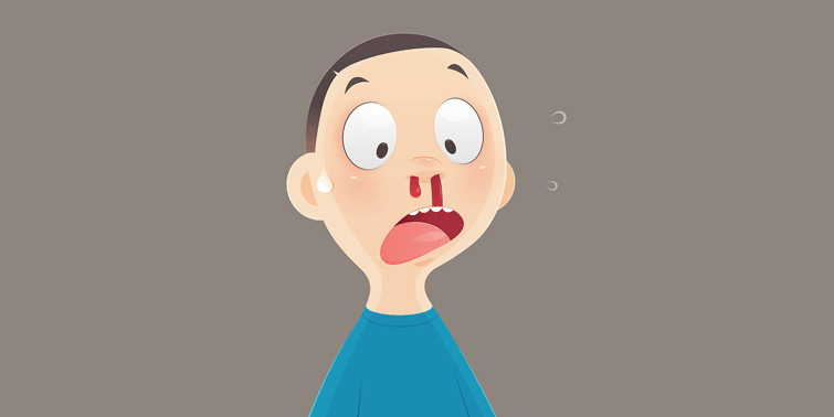 Nose Bleeding Or Epistaxis Causes And Management