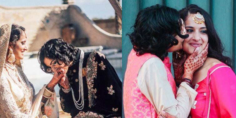 Indian-Pakistani Same-Sex Couple Tie Knot In Fairy Tale Wedding
