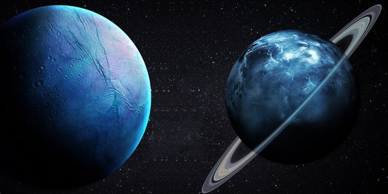 NASA's Hubble Space Telescope Detects Storms On Neptune And Uranus
