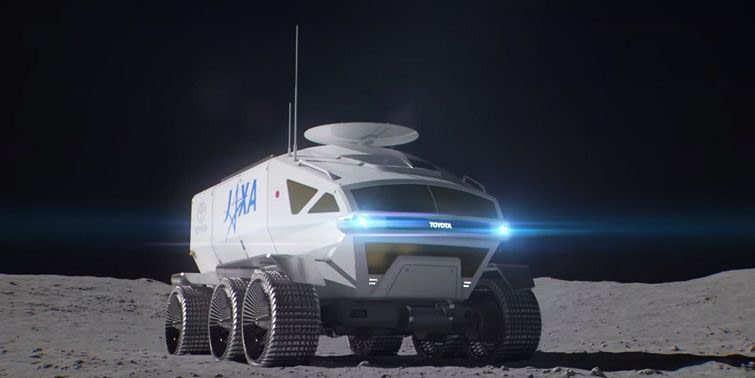 Toyota Collaborates To Power Japan's Lunar Rover With Fuel Cell Technology