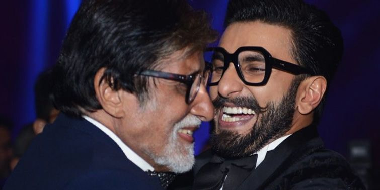 Ranveer Singh Met Amitabh Bachchan The 'Electric' Actor Can't Get Enough Of The 'GOAT'
