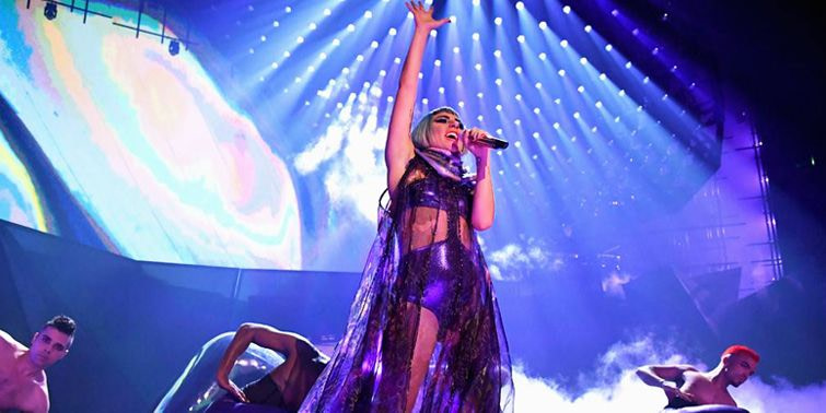 Lady Gaga Doubles Down On President Trump And Mike Pence During Enigma Performance