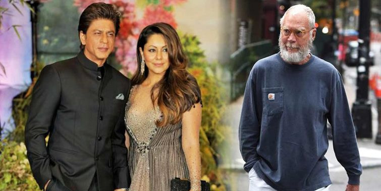David Letterman Visits Gauri Khan's Store, Poses For Paps. Watch Out!