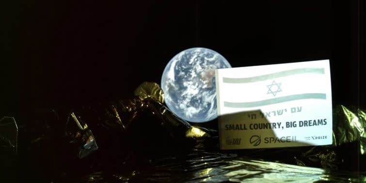 Beresheet First Lunar Space Shuttle By Israel Sends Selfie 37,600 Kilometers From Earth