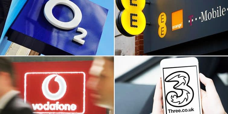 United Kingdom's Three Largest Mobile Phone Firms Failing On Client Service